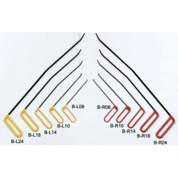 Dentcraft 10 Piece Brace Tool Set - 5 Left & 5 Right