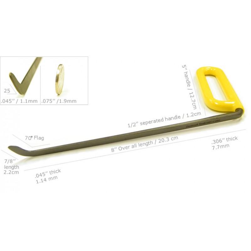"Dentcraft 8"" Brace Tool - Left"