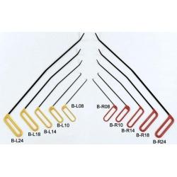 Dentcraft 10 Piece Brace Tool Set - 5 Left & 5 Right