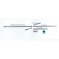 Dentcraft 8 Piece Collapsible Rod Set